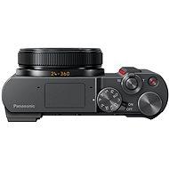 Panasonic Lumix DMC-TZ200 stříbrný - Digitální fotoaparát