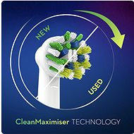 Oral-B CrossAction Kartáčková Hlava S Technologií CleanMaximiser, Balení 6 ks - Náhradní hlavice
