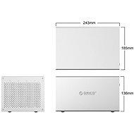 """ORICO Honeycomb 4x 3.5"""" HDD box USB-C - Externí box"""