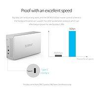 """ORICO Honeycomb RAID 4x 3.5"""" HDD box USB-C - Externí box"""