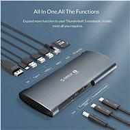 Orico Thunderbolt 3 Docking station - Dokovací stanice