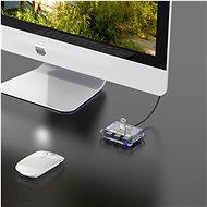 Orico USB-A Hub 4xUSB 3.0 Transparent - USB Hub