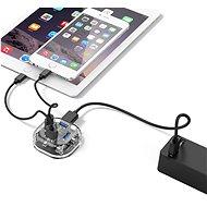Orico microUSB Hub 4xUSB-A 3.0 Transparent - USB Hub
