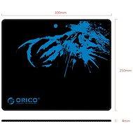 Orico MPA3025 černo-modrá - Podložka pod myš
