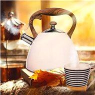 Čajník nerez WOODEN 3,5 l  - Čajová konvice