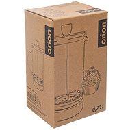 Konvice sklo/nerez/bambus kafetier CORK 0,75 l  - French press