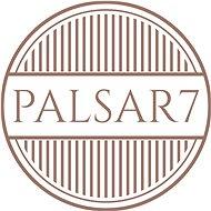 Palsar7 Oválný elektrický kartáček na čištění pleti, světle růžový - Kosmetický přístroj