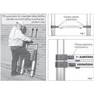 Teleskopický žebřík G21 GA-TZ7-2M hliníkový - Žebřík