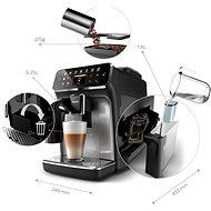 Philips Series 4300 LatteGo EP4346/70 - Automatický kávovar
