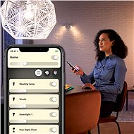 Philips Hue White 9W E27 - LED žárovka