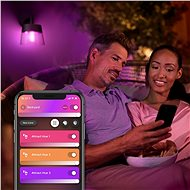Philips Hue White and Color Ambiance Attract 17461/30/P7 - Nástěnná lampa