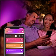 Philips Hue White and Color Ambiance Resonate 17464/47/P7 - Nástěnná lampa