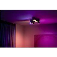 Philips Hue White and Color Ambiance Centris 3L Cross Ceiling Černá 50608/30/P7 - Stropní světlo