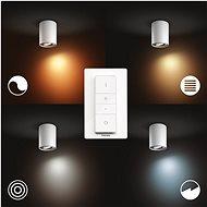 Philips Hue White Ambiance Pillar Hue single spot white 1x5W 2 30V - Stropní světlo