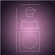Philips Hue Centura 50551/31/P7 - Stropní světlo