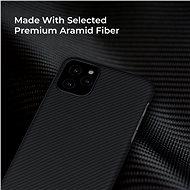 Pitaka Air case Black iPhone 11 Pro Max - Kryt na mobil