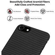 Pitaka MagEZ Case Black/Grey iPhone SE 2020 - Kryt na mobil