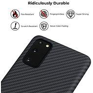 Pitaka MagEZ Case Black/Grey Samsung Galaxy S20 - Kryt na mobil