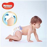 HUGGIES Ultra Comfort Jumbo vel. 3 (224 ks) - Dětské pleny
