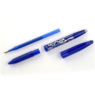 PILOT FriXion Ball 0.7/0.35mm modré pack 1ks + 3ks náplně - Gelové pero