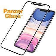 PanzerGlass Edge-to-Edge pro iPhone Xr/11 černé Swarovski CamSlider - Ochranné sklo