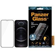 PanzerGlass Edge-to-Edge Antibacterial pro Apple iPhone 12/iPhone 12 Pro černé - Ochranné sklo