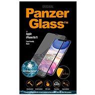 PanzerGlass Edge-to-Edge pro Apple iPhone Xr/11 černé s Anti-bacterial - Ochranné sklo