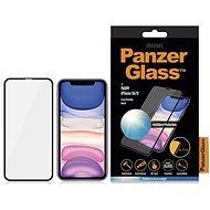 PanzerGlass Edge-to-Edge pro Apple iPhone Xr/11 černé s Anti-Glare - Ochranné sklo