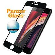 PanzerGlass Edge-to-Edge pro Apple iPhone 6/6s/7/8/SE 2020 černé s Anti-Glare - Ochranné sklo