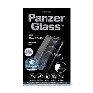 PanzerGlass Edge-to-Edge Antibacterial pro Apple iPhone 12 Pro Max s čirým Swarovski CamSlider - Ochranné sklo