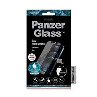 PanzerGlass Edge-to-Edge Antibacterial pro Apple iPhone 12 Pro Max s růžovým Swarovski CamSlider - Ochranné sklo