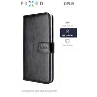 FIXED Opus pro Apple iPhone 7 Plus/8 Plus, černé - Pouzdro na mobil
