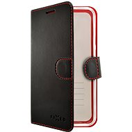 FIXED FIT pro Xiaomi Redmi 9 černé - Pouzdro na mobil