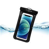 FIXED Float Edge s uzamykacím systémem a certitikací IPX8 černá - Pouzdro na mobil