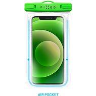 FIXED Float Edge s uzamykacím systémem a certitikací IPX8 limetková - Pouzdro na mobil