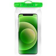 FIXED Float s uzamykacím systémem a certitikací IPX8 limetková - Pouzdro na mobil