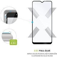 FIXED FullGlue-Cover pro Samsung Galaxy A20s černé - Ochranné sklo
