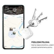 FIXED Smile PRO bílý - Bluetooth lokalizační čip
