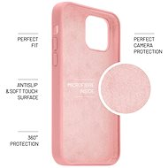 FIXEDFlowLiquid Silicon case proAppleiPhone7/8/SE(2020)růžový - Kryt na mobil