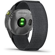 Garmin Enduro Steel/Grey UltraFit Nylon strap - Chytré hodinky