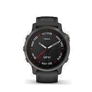 Garmin Fenix 6S Sapphire, Gray/Black Band - Chytré hodinky