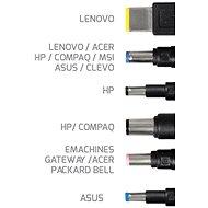PORT CONNECT univerzální napájecí adaptér k notebooku, 150W, 6x konektor - Napájecí adaptér
