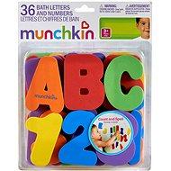 Munchkin – Písmena a čísla do vany - Hračka do vody