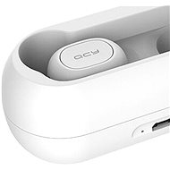QCY T1C bílá - Bezdrátová sluchátka
