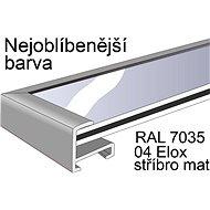 THALU Kovový rám 70x70 cm Stříbrná matná     - Fotorámeček