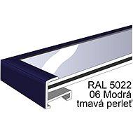 THALU Kovový rám 70x70 cm Modrá tmavá   - Fotorámeček
