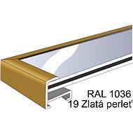 THALU Kovový rám 70x70 cm Zlatá - Fotorámeček