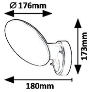 Rabalux Varna 8134 - Nástěnná lampa