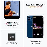 iPhone 12 Mini 256GB černá - Mobilní telefon