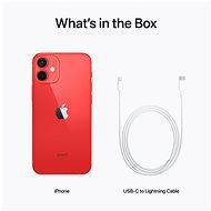 iPhone 12 Mini 256GB červená - Mobilní telefon